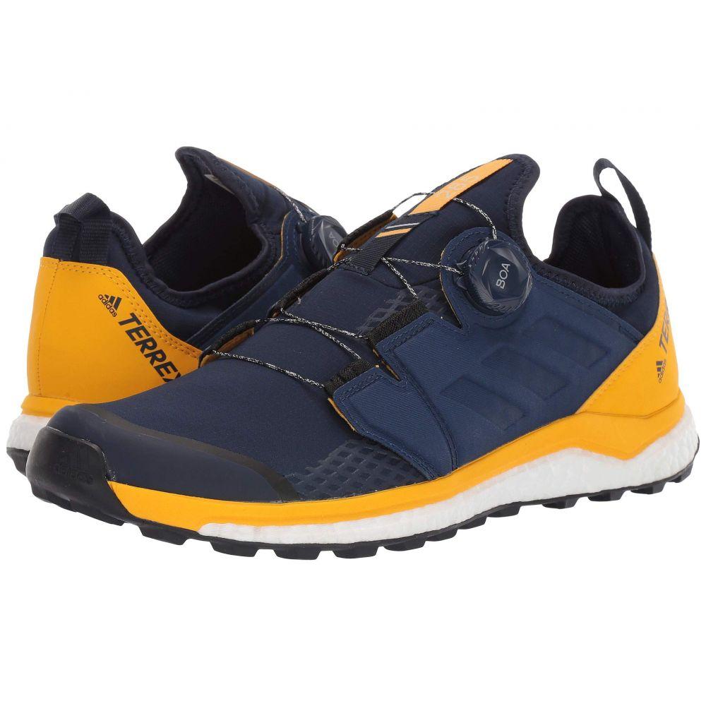 アディダス adidas Outdoor メンズ ランニング・ウォーキング シューズ・靴【Terrex Agravic BOA】Collegiate Navy/Collegiate Navy/Active Gold