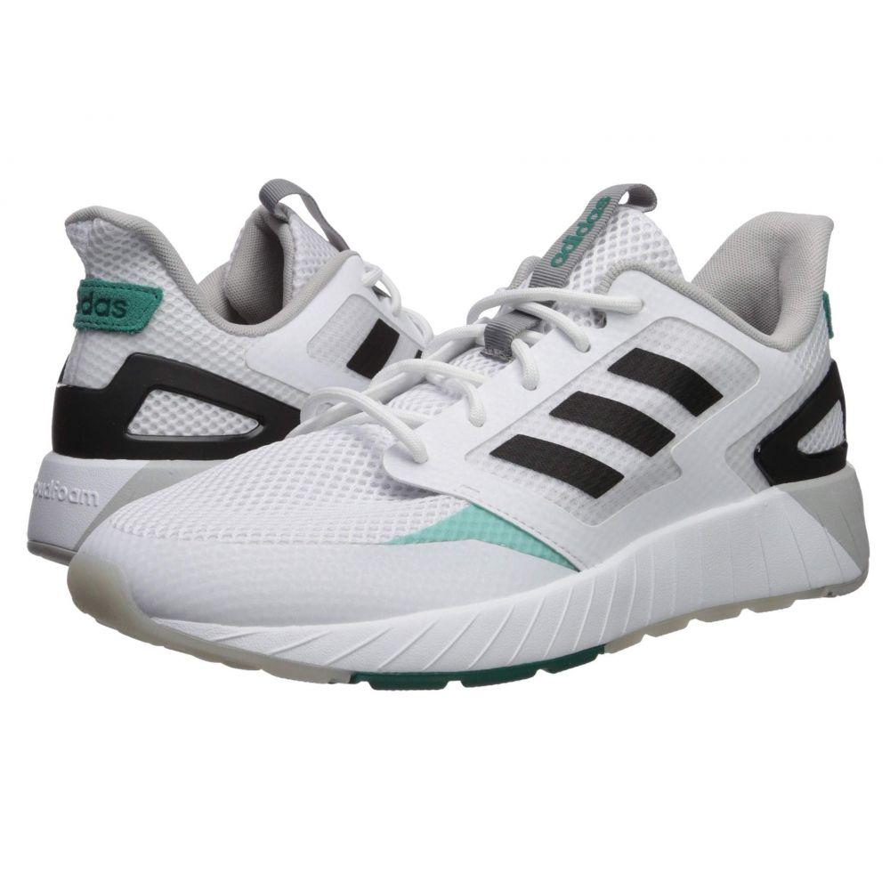 アディダス adidas メンズ ランニング・ウォーキング シューズ・靴【Questar Strike】Footwear White/Core Black/Active Green