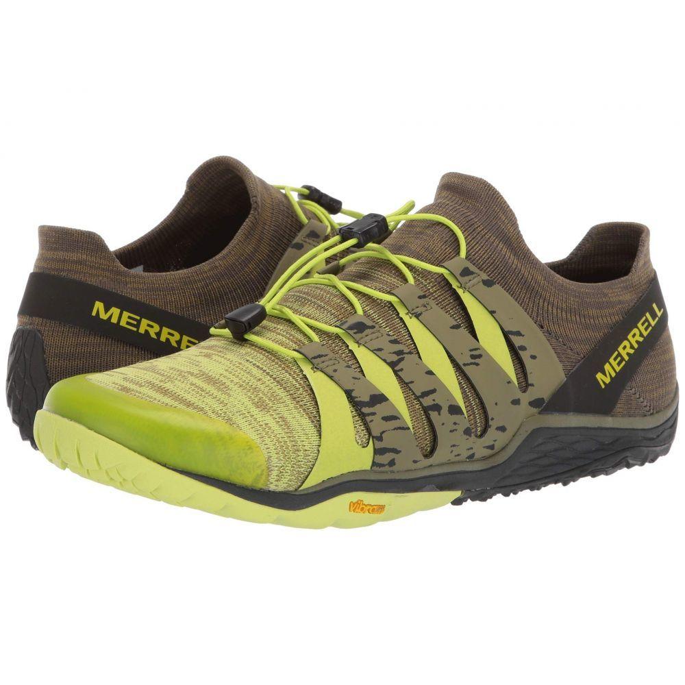 メレル Merrell メンズ ランニング・ウォーキング シューズ・靴【Trail Glove 5 3D】Lime Punch