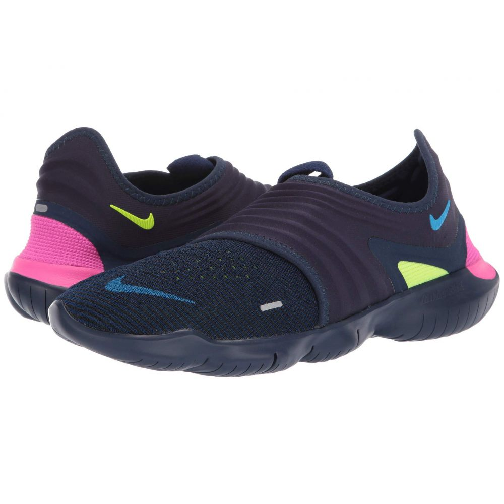 ナイキ Nike メンズ ランニング・ウォーキング シューズ・靴【Free RN Flyknit 3.0】Midnight Navy/Volt/White