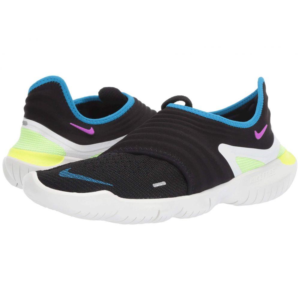 ナイキ Nike メンズ ランニング・ウォーキング シューズ・靴【Free RN Flyknit 3.0】Black/Hyper Violet/Laser Orange