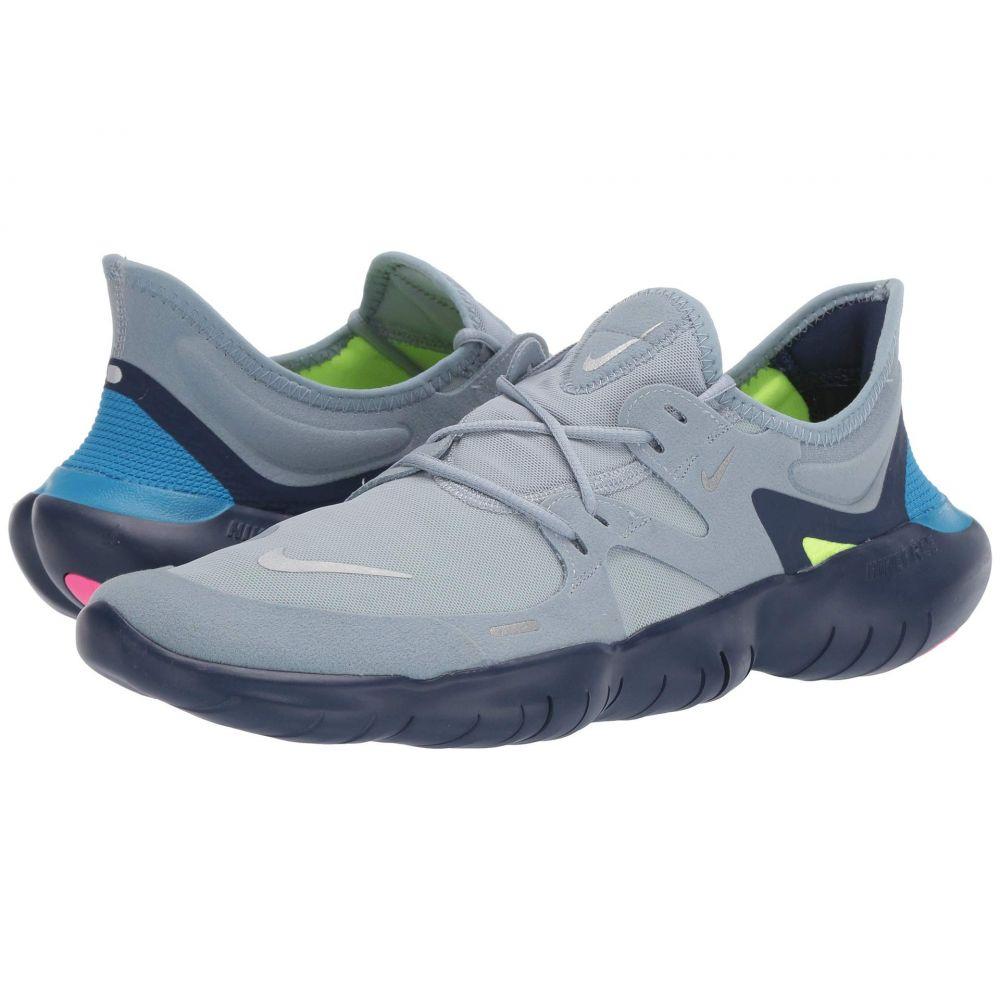 ナイキ Nike メンズ ランニング・ウォーキング シューズ・靴【Free RN 5.0】Obsidian Mist/Metallic Silver