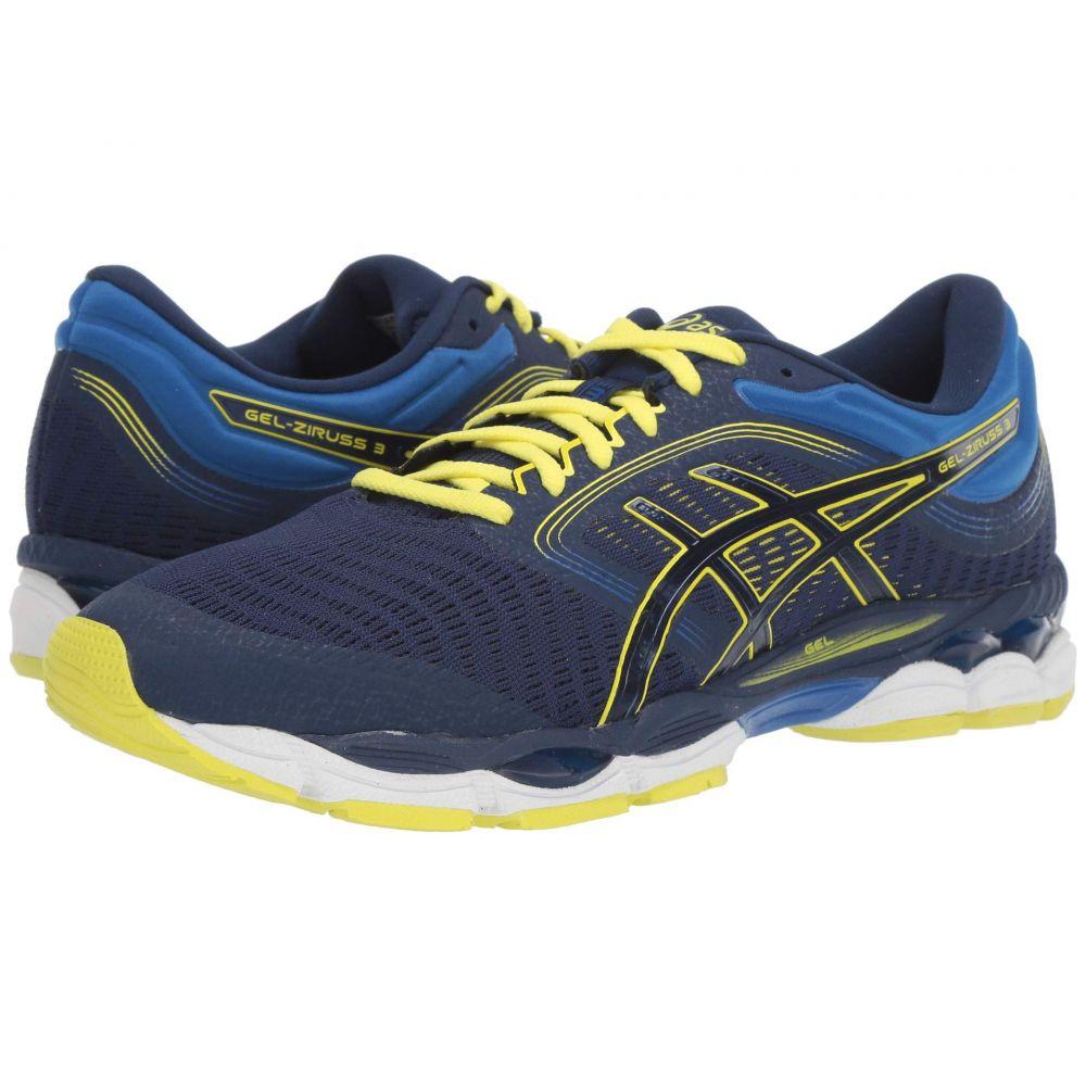 アシックス ASICS メンズ ランニング・ウォーキング シューズ・靴【Gel-Ziruss 3】Blue Expanse/Sour Yuzu