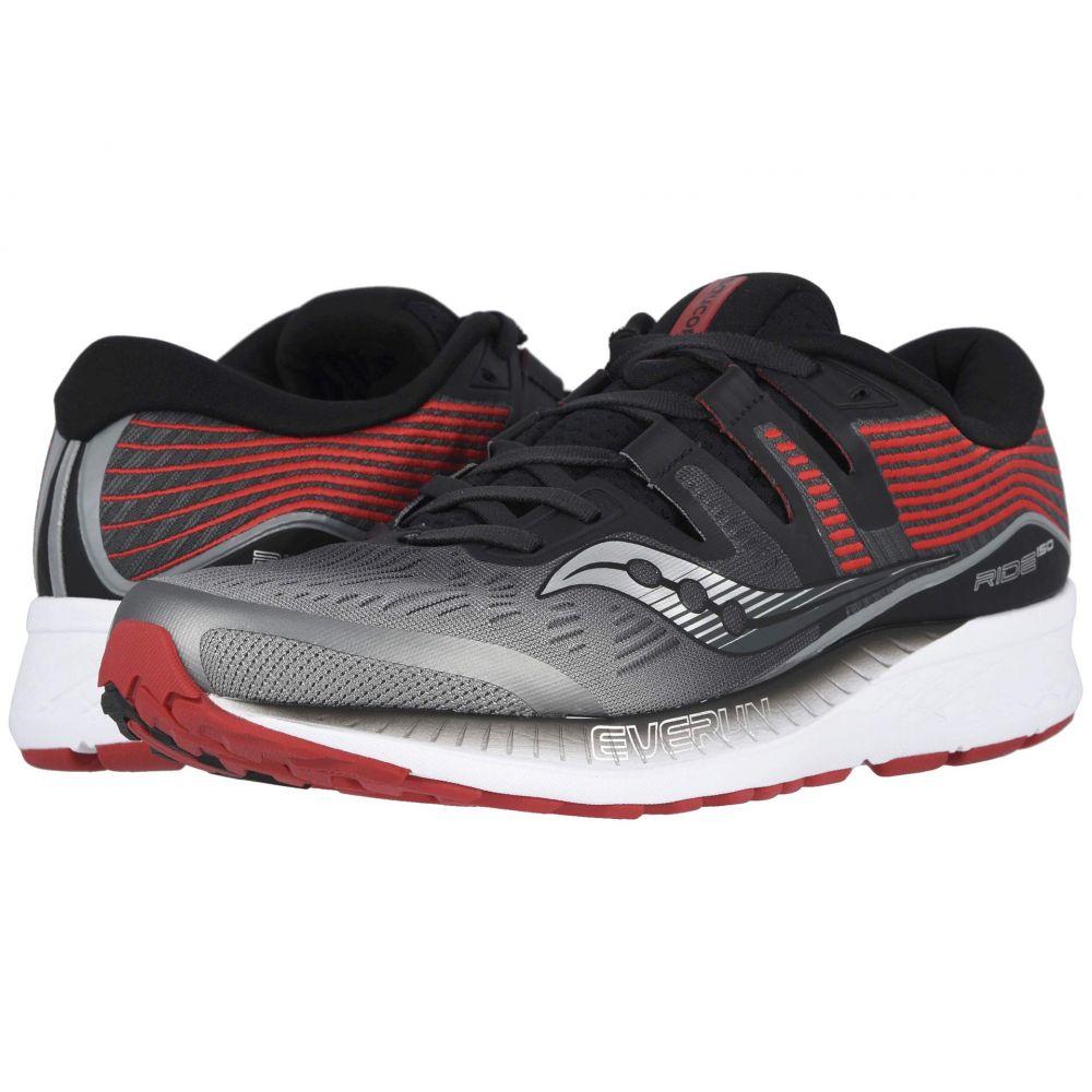 サッカニー Saucony メンズ ランニング・ウォーキング シューズ・靴【Ride ISO】Grey/Black