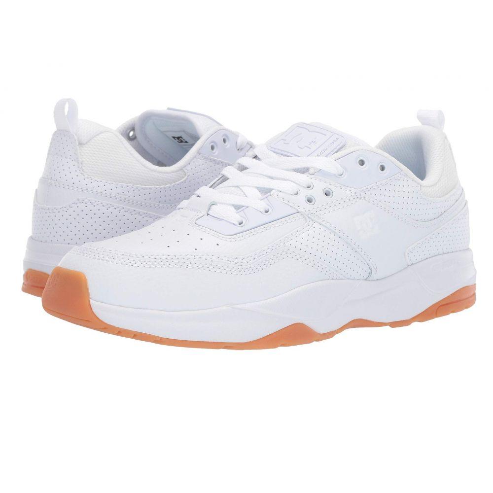 ディーシー DC メンズ スニーカー シューズ・靴【E. Tribeka】White/Gum