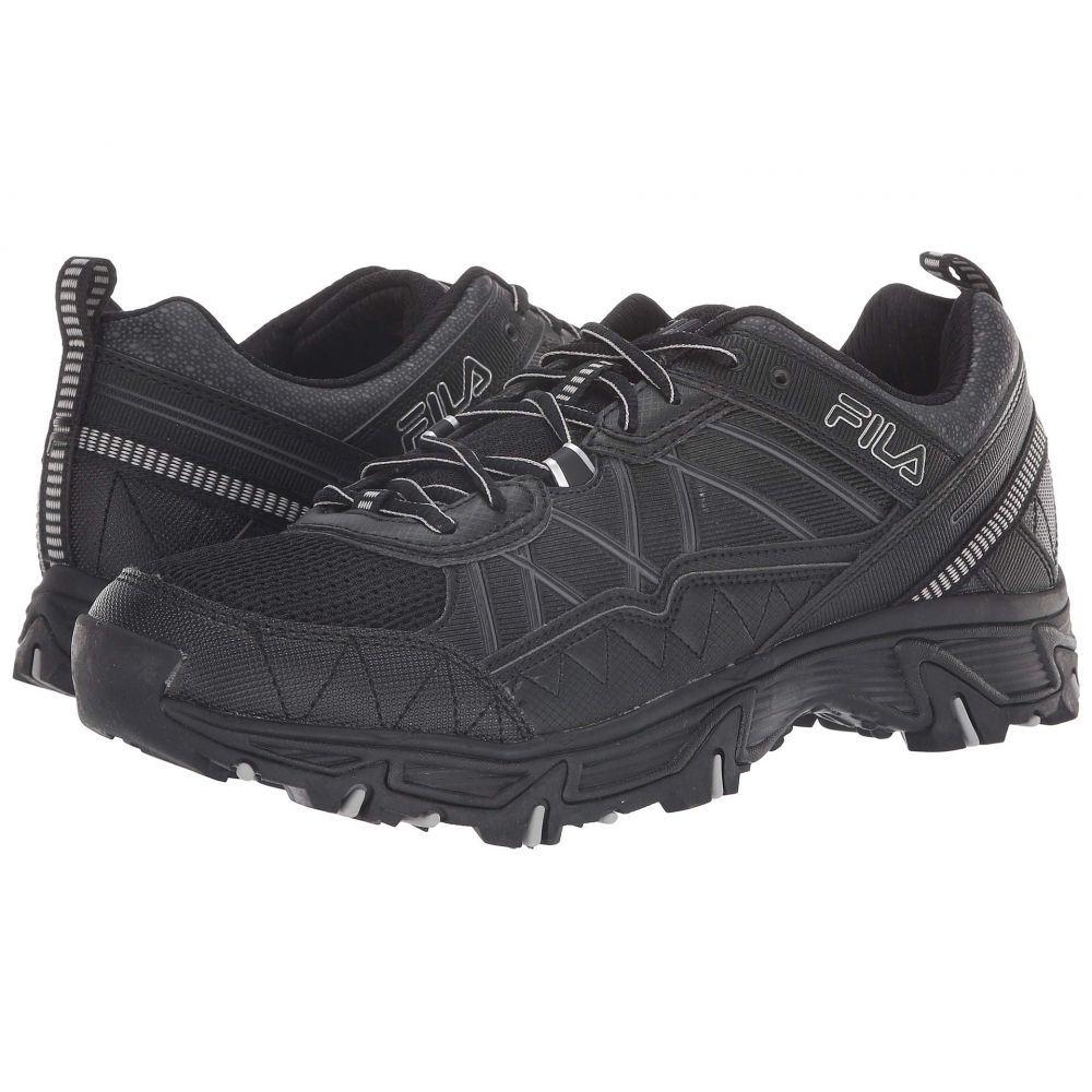 フィラ Fila メンズ ランニング・ウォーキング シューズ・靴【At Peake 20】Black/Dark Shadow/Metallic Silver