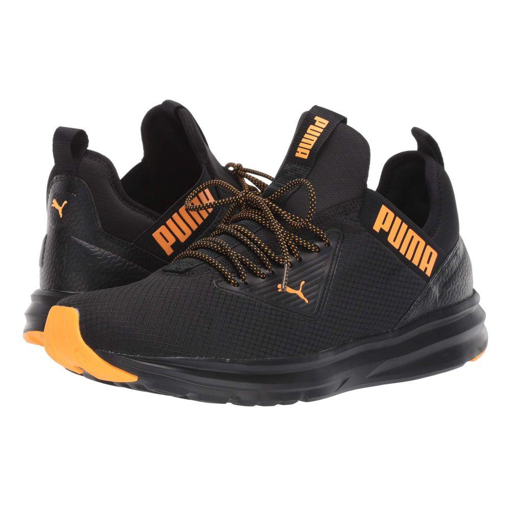 プーマ PUMA メンズ スニーカー シューズ・靴【Enzo Beta Rip】Puma Black/Orange Alert