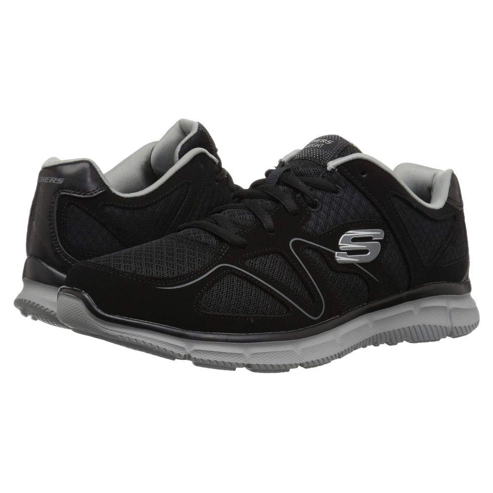 スケッチャーズ SKECHERS メンズ スニーカー シューズ・靴【Satisfaction Flash Point】Black/Gray