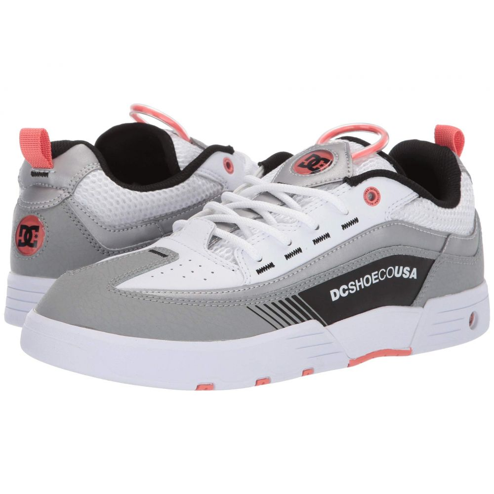 ディーシー DC メンズ スニーカー シューズ・靴【Legacy 98 Slim】Grey/White