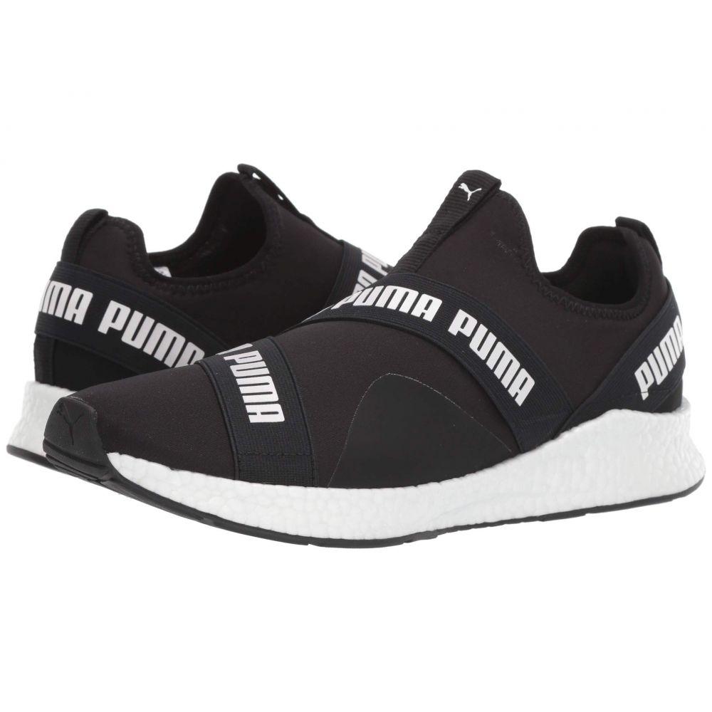 プーマ PUMA メンズ スリッポン・フラット シューズ・靴【Nrgy Star Slip-On】Puma Black/Puma White