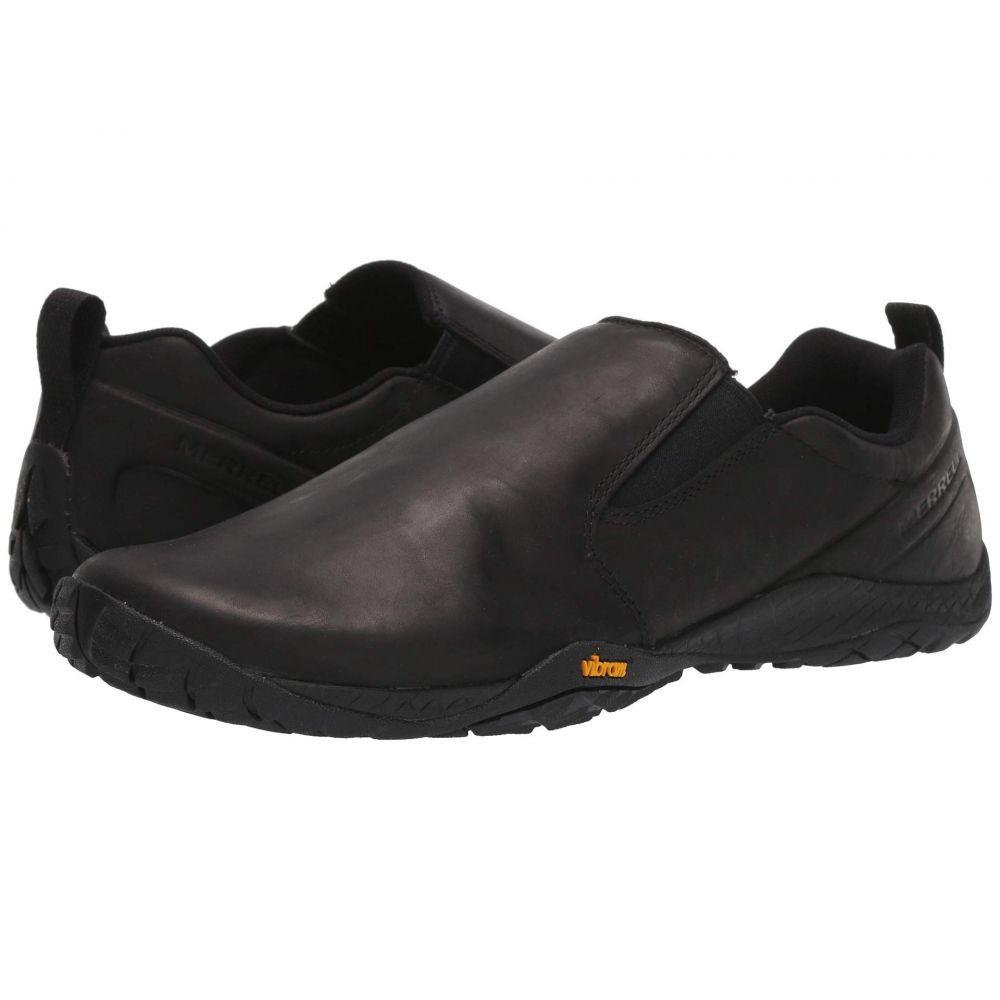 メレル Merrell メンズ スリッポン・フラット シューズ・靴【Trail Glove 4 Luna Slip-On】Black