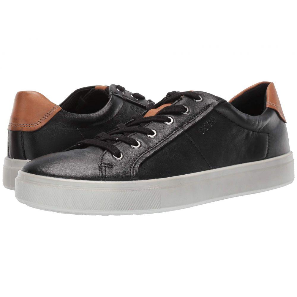 エコー ECCO メンズ スニーカー シューズ・靴【Kyle Classic Sneaker】Black/Lion Cow Leather/Cow Nubuck