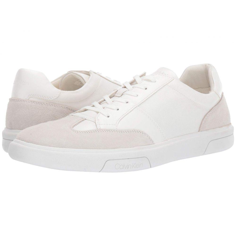 カルバンクライン Calvin Klein メンズ スニーカー シューズ・靴【Gaius】White