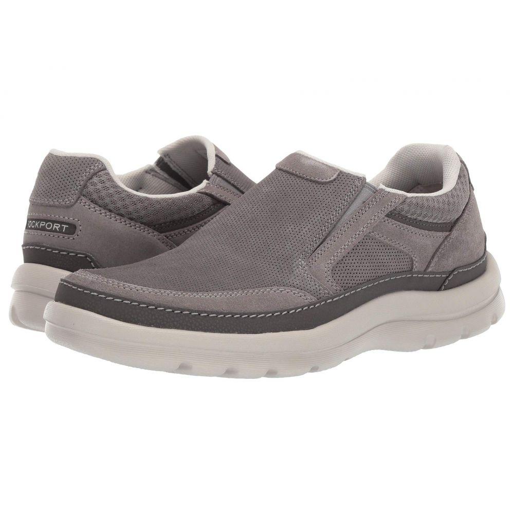 ロックポート Rockport メンズ スニーカー シューズ・靴【Get Your Kicks Double Gore Mudguard】Steel Grey