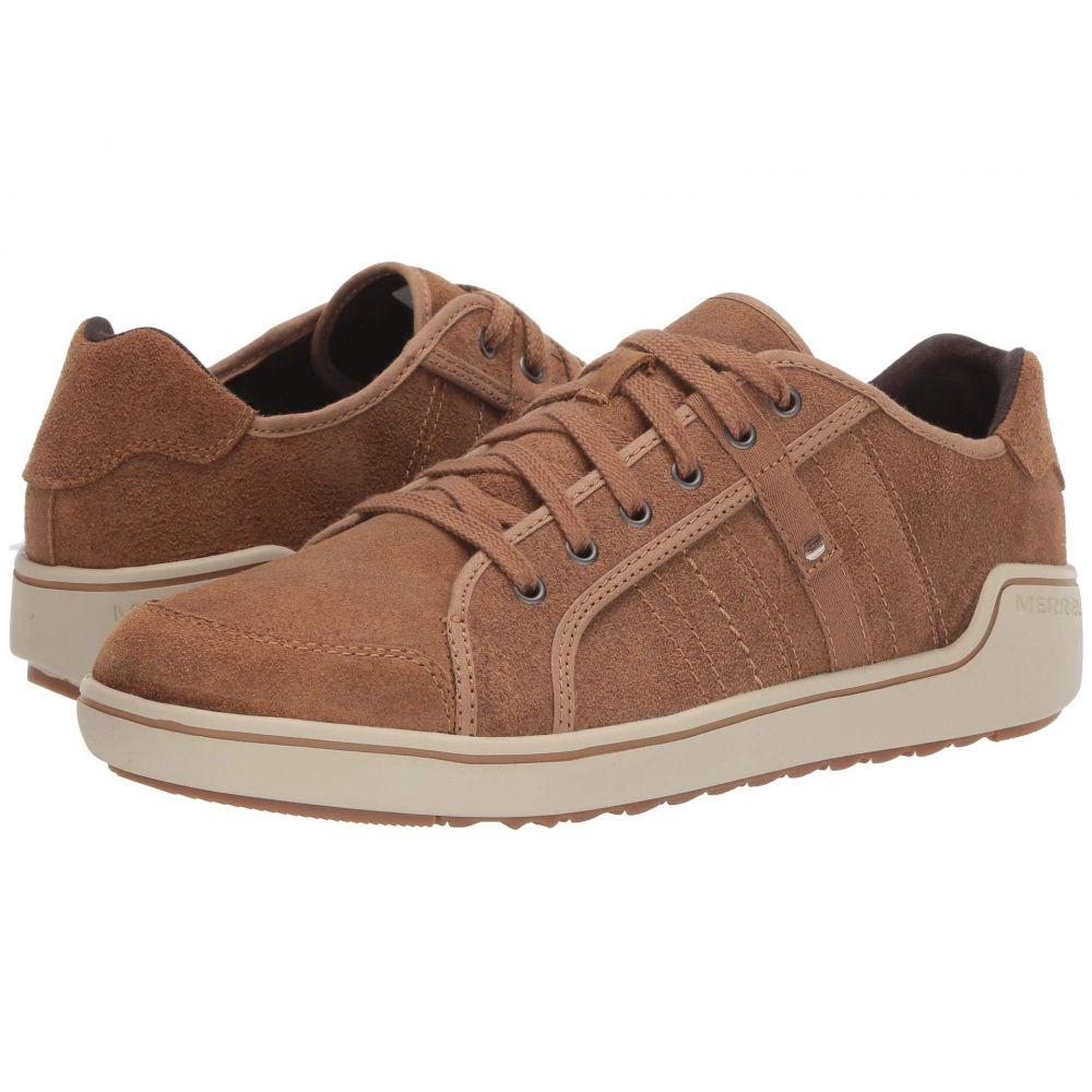 メレル Merrell メンズ スニーカー シューズ・靴【Primer Leather】Tobacco Brown