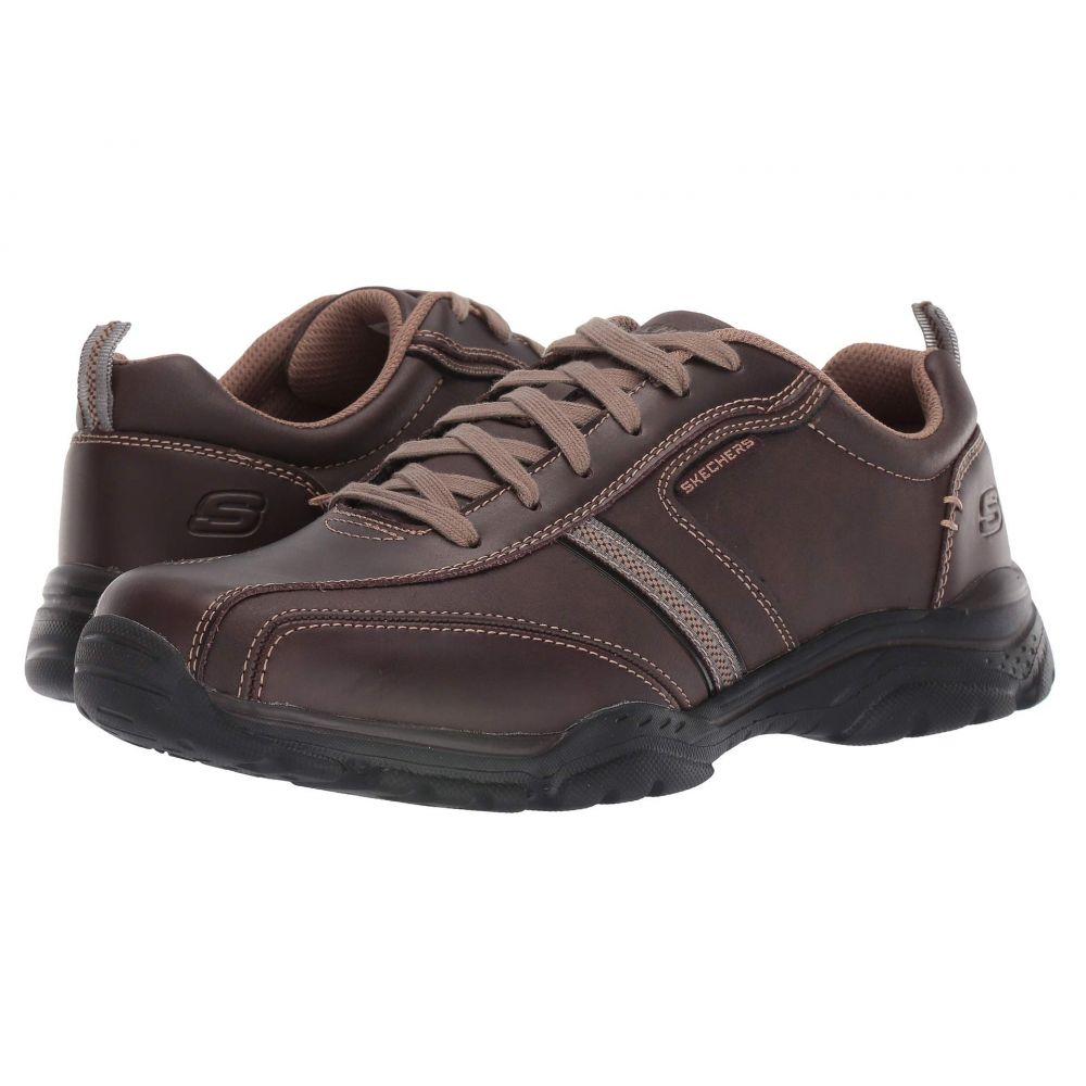 スケッチャーズ SKECHERS メンズ スニーカー シューズ・靴【Relaxed Fit: Rovato - Larion】Brown