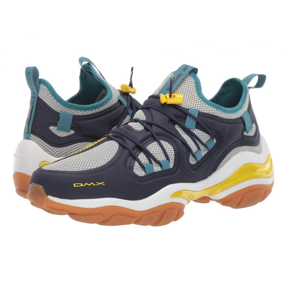 リーボック Reebok メンズ スニーカー シューズ・靴【DMX Series 2000】Collegiate Navy/Grey/Yellow/Mist