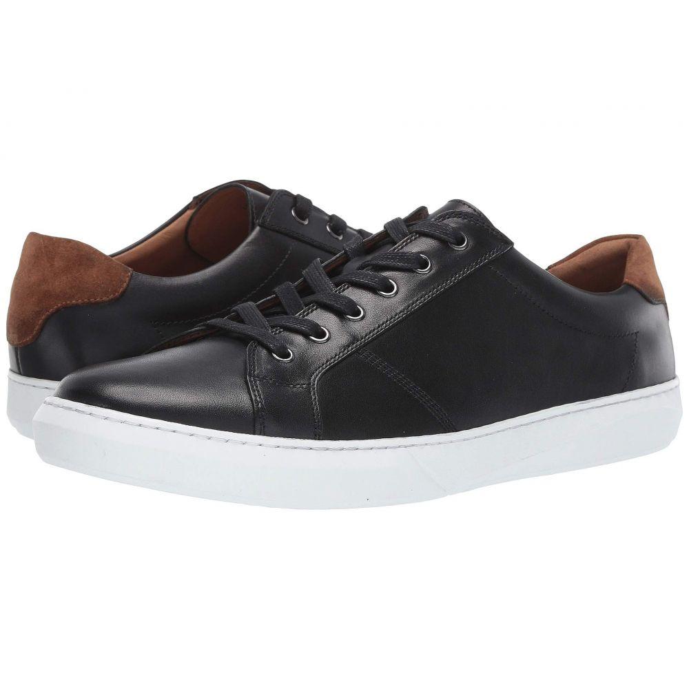 ロバート タルボット Robert Talbott メンズ スニーカー シューズ・靴【Hudson】Black Leather