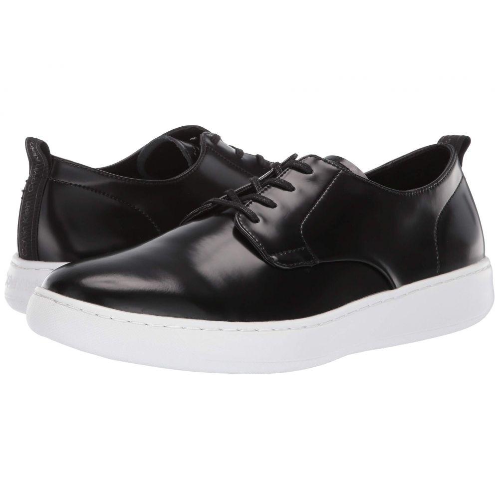 カルバンクライン Calvin Klein メンズ スニーカー シューズ・靴【Fife】Black Box Leather
