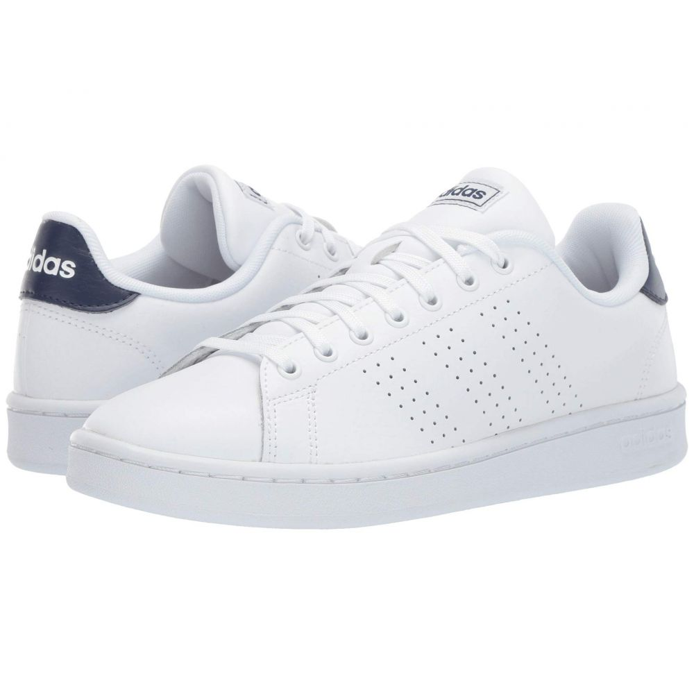 アディダス adidas メンズ スニーカー シューズ・靴【Advantage】Footwear White/Footwear White/Dark Blue