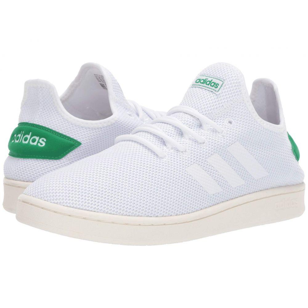 アディダス adidas メンズ スニーカー シューズ・靴【Court Adapt】Footwear White/Footwear White/Green