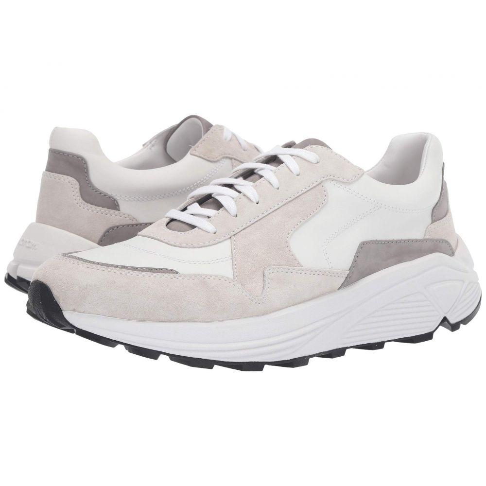 ヴィンス Vince メンズ スニーカー シューズ・靴【Eastside】White Silk Calf/Sport Suede