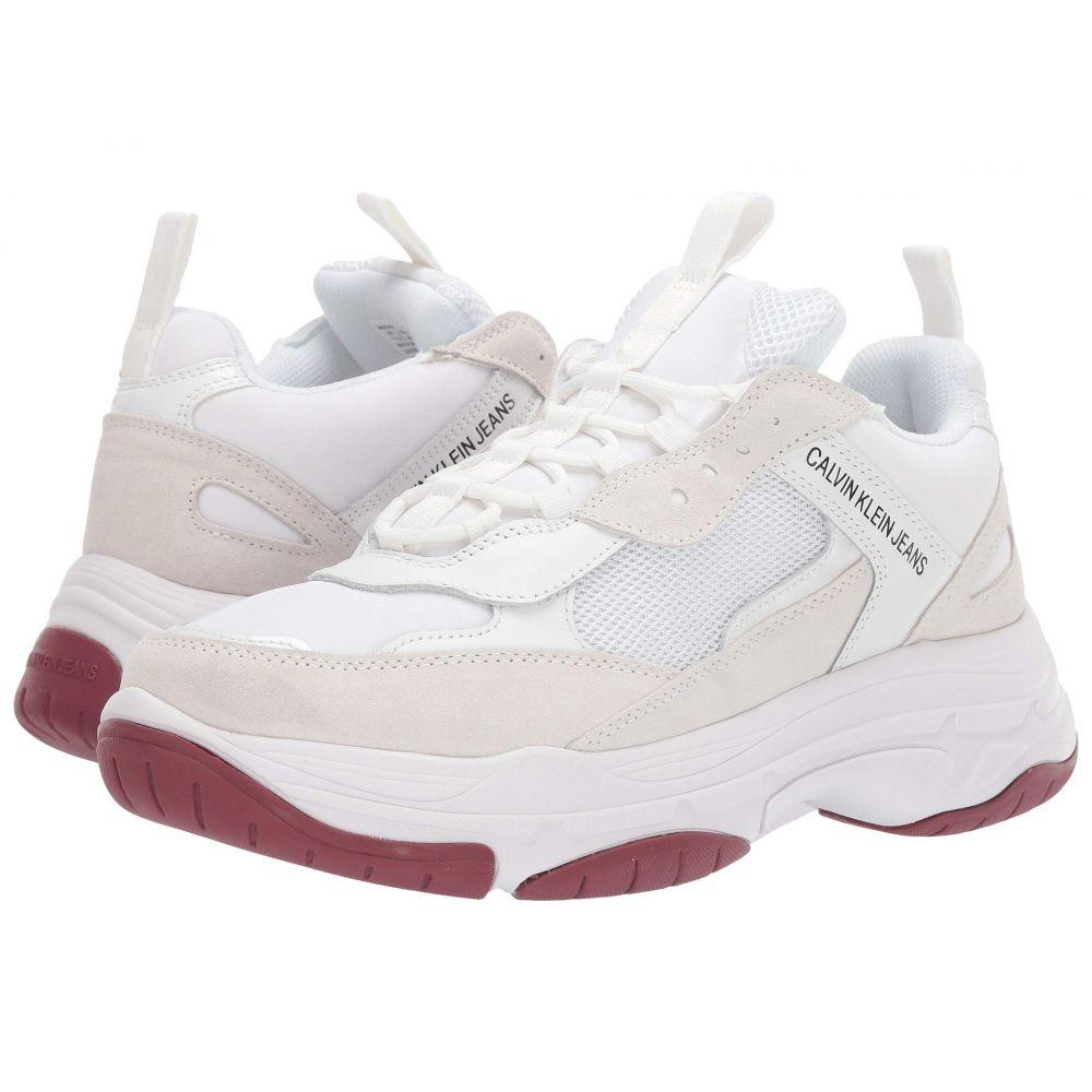 カルバンクライン Calvin Klein メンズ スニーカー シューズ・靴【Marvin】White