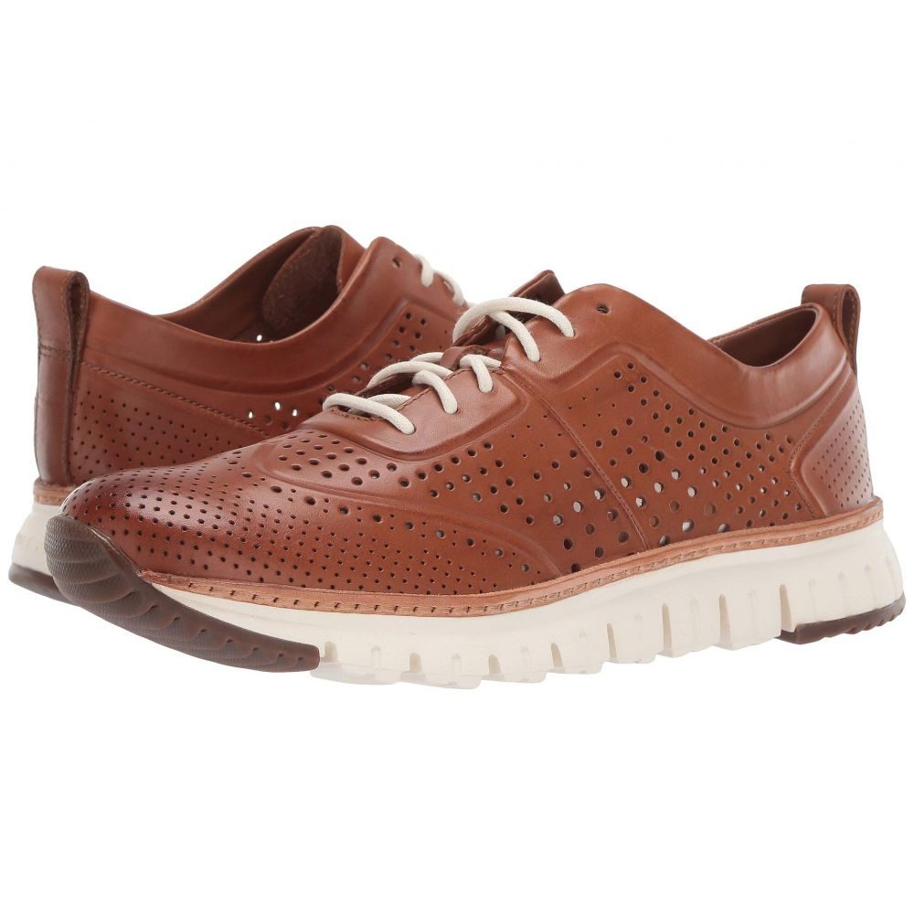 コールハーン Cole Haan メンズ スニーカー シューズ・靴【Zerogrand Laser Perforated Sneaker】British Tan