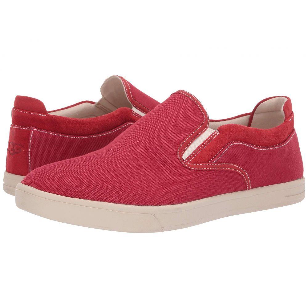 アグ UGG メンズ スニーカー シューズ・靴【Mateo Canvas】Samba Red
