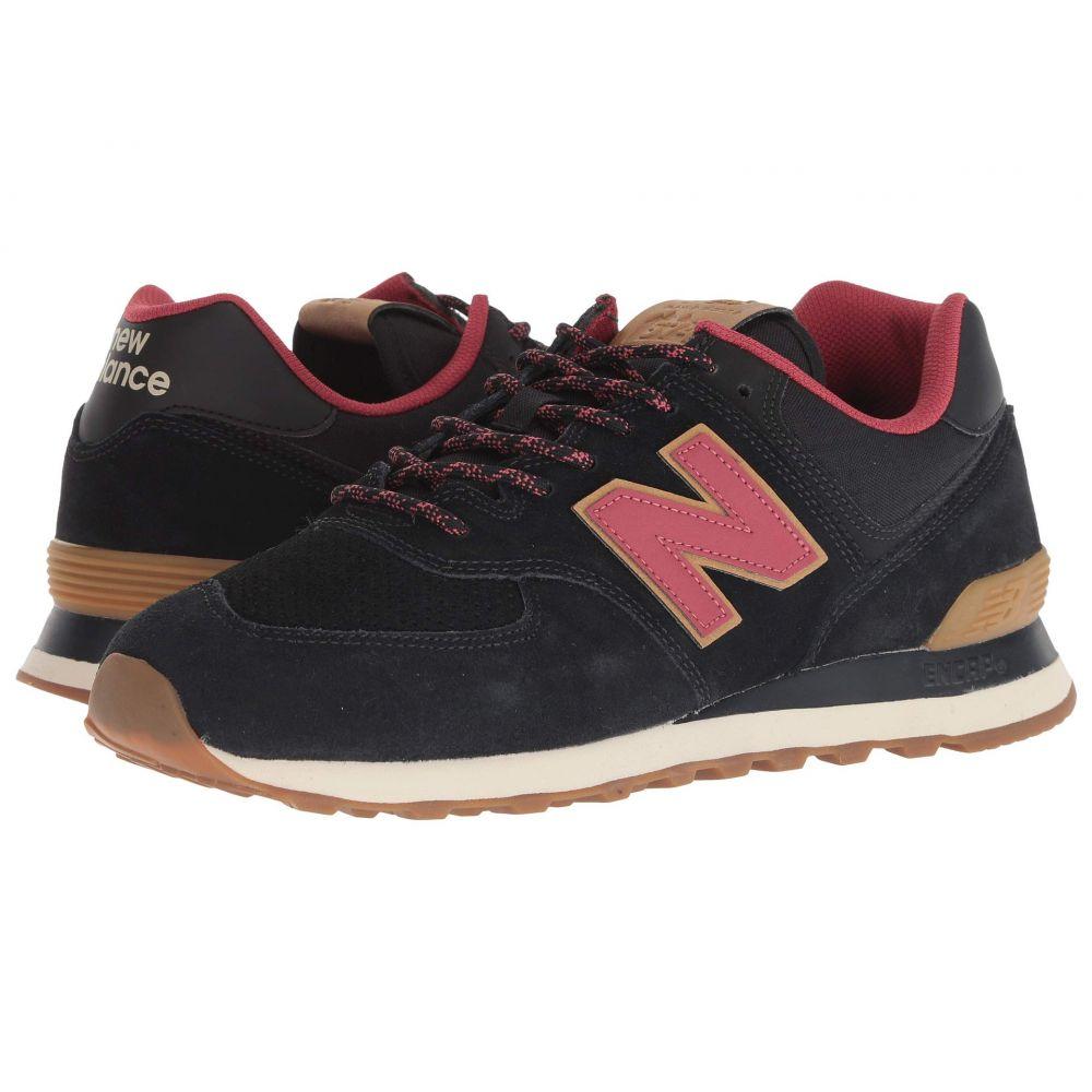ニューバランス New Balance Classics メンズ スニーカー シューズ・靴【ML574v2】Black/Earth Red