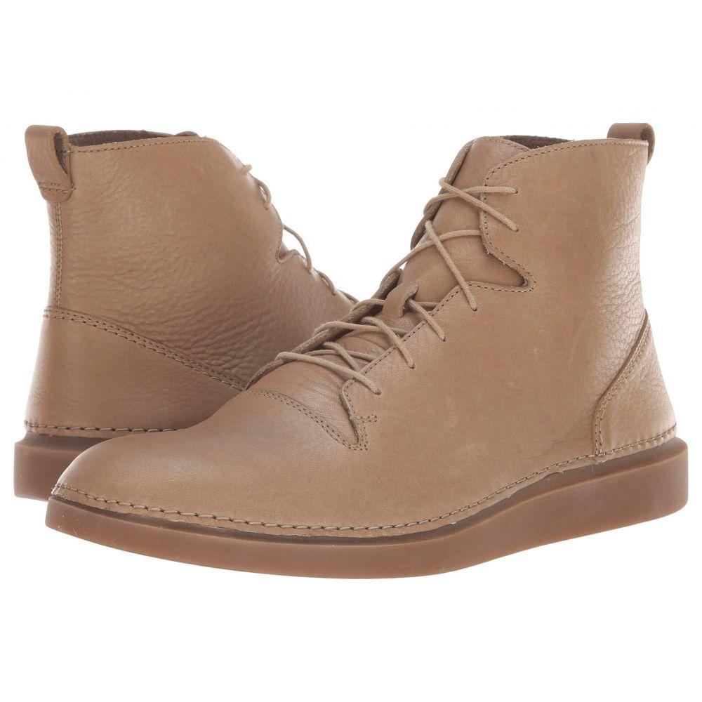クラークス Clarks メンズ スニーカー シューズ・靴【Hale Rise】Sandstone Leather