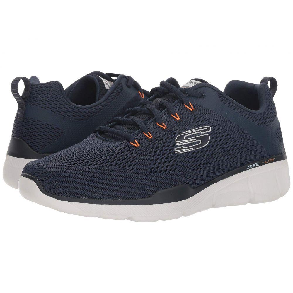 スケッチャーズ SKECHERS メンズ スニーカー シューズ・靴【Equalizer 3.0】Navy/Orange
