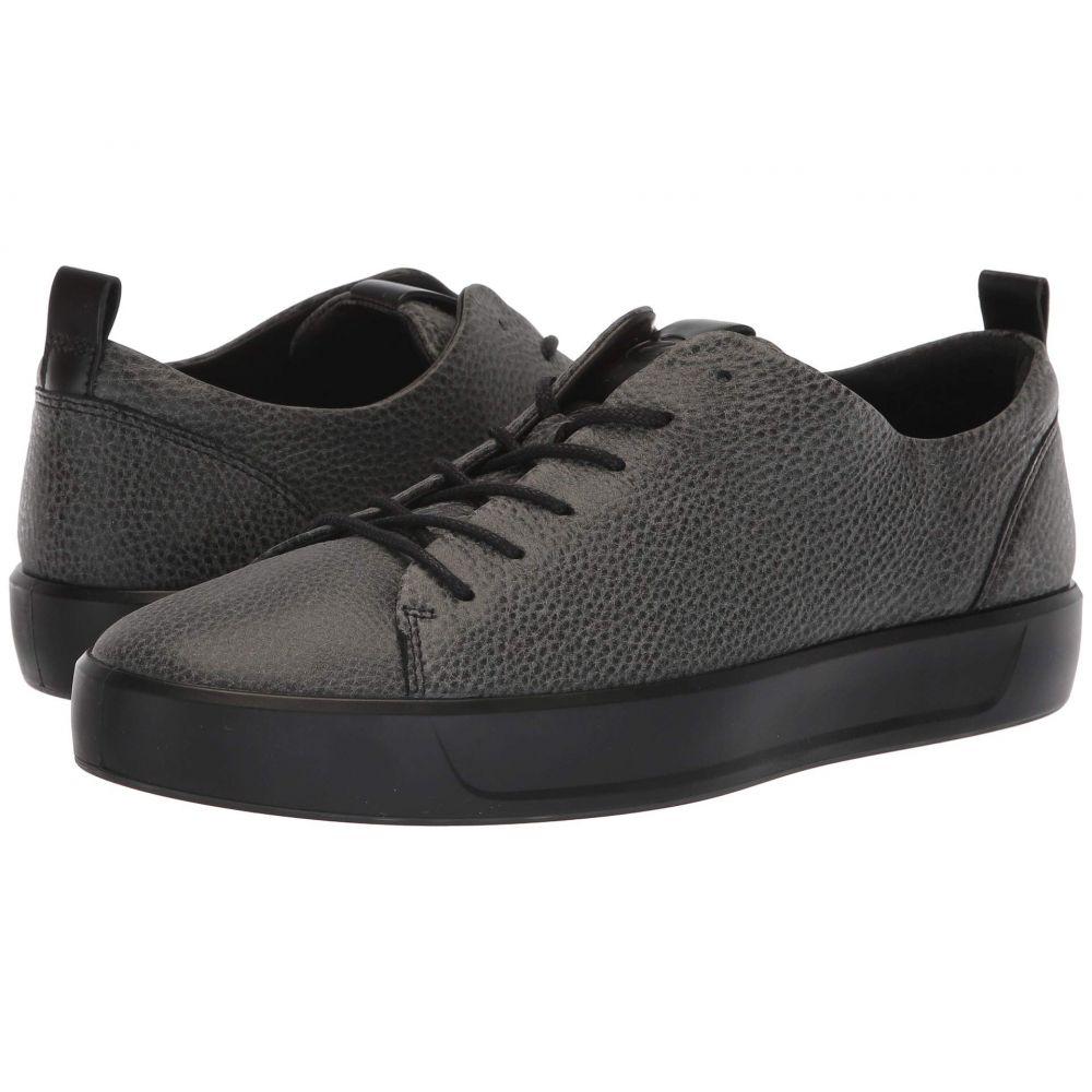 エコー ECCO メンズ スニーカー シューズ・靴【Soft 8 Tie】Black/Black