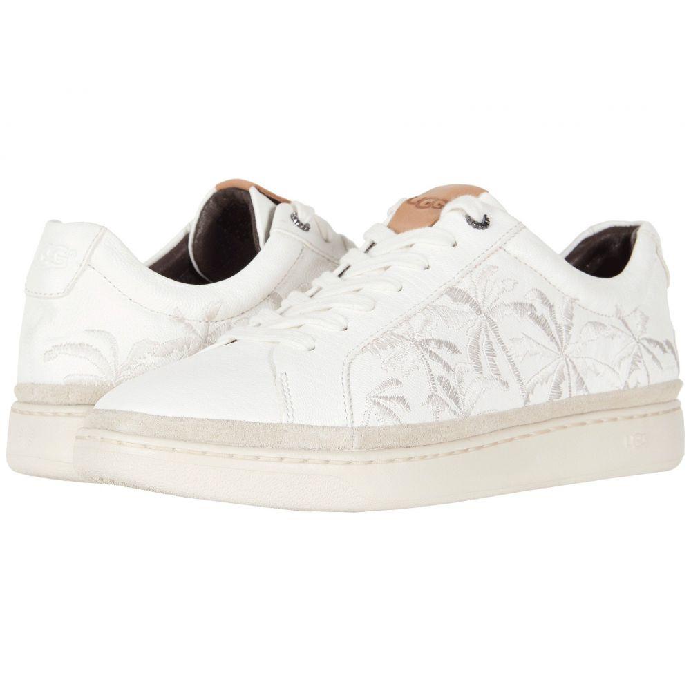 アグ UGG メンズ スニーカー シューズ・靴【Brecken Lace Low Palms】White Leather