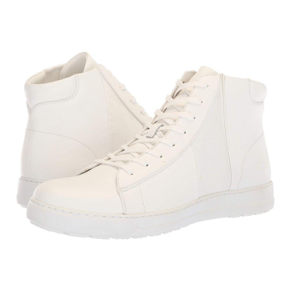 カルバンクライン Calvin Klein メンズ スニーカー シューズ・靴【Salvador】White/White Nappa Calf Leather