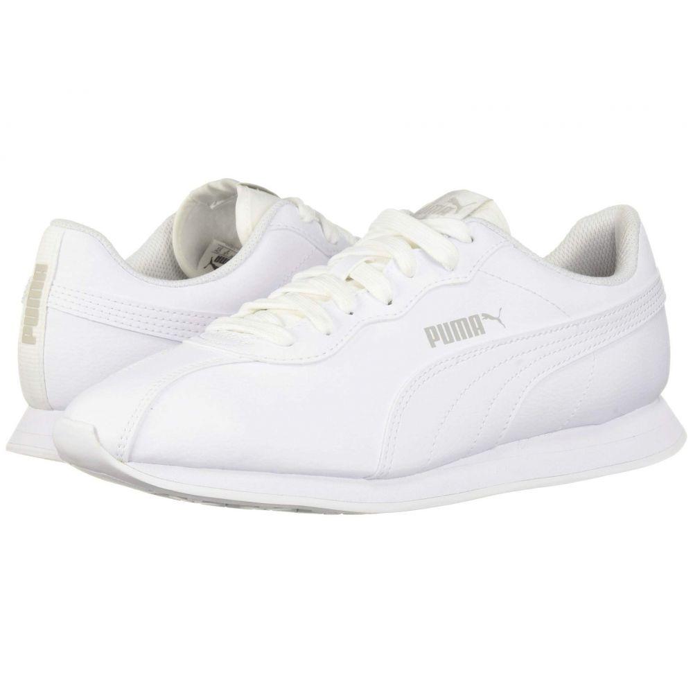 プーマ PUMA メンズ スニーカー シューズ・靴【Turin II】Puma White/Puma White
