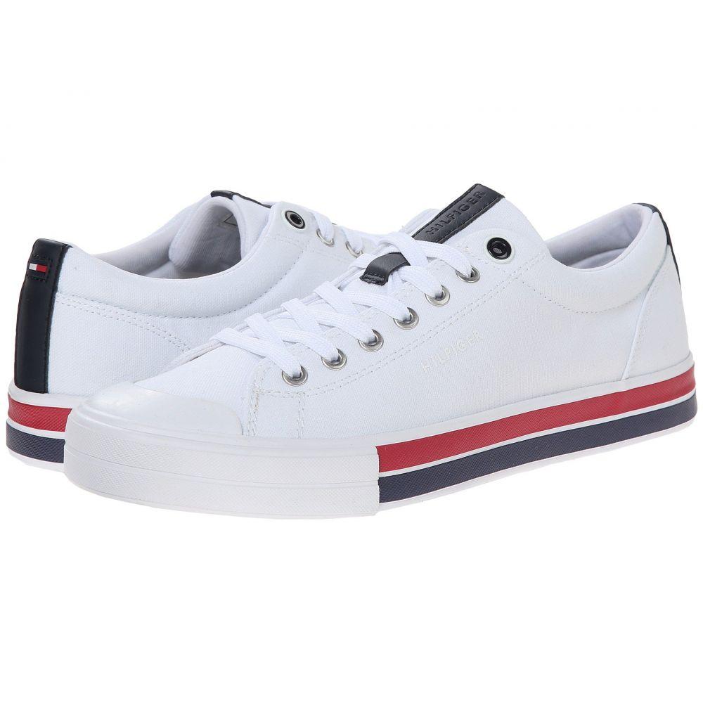 トミー ヒルフィガー Tommy Hilfiger メンズ スニーカー シューズ・靴【Reno】White