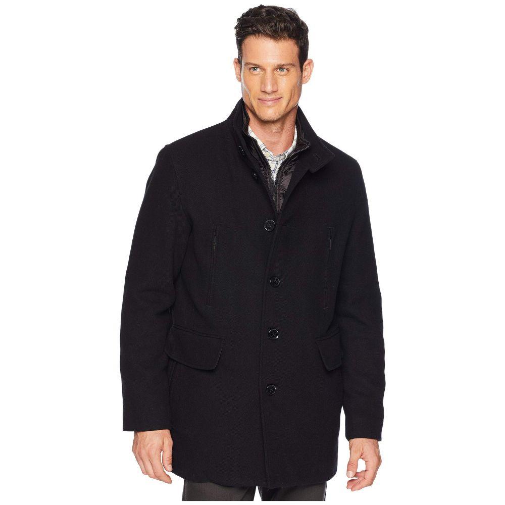 コールハーン Cole Haan メンズ ジャケット アウター【Wool Twill Jacket with Attached Bib】Black
