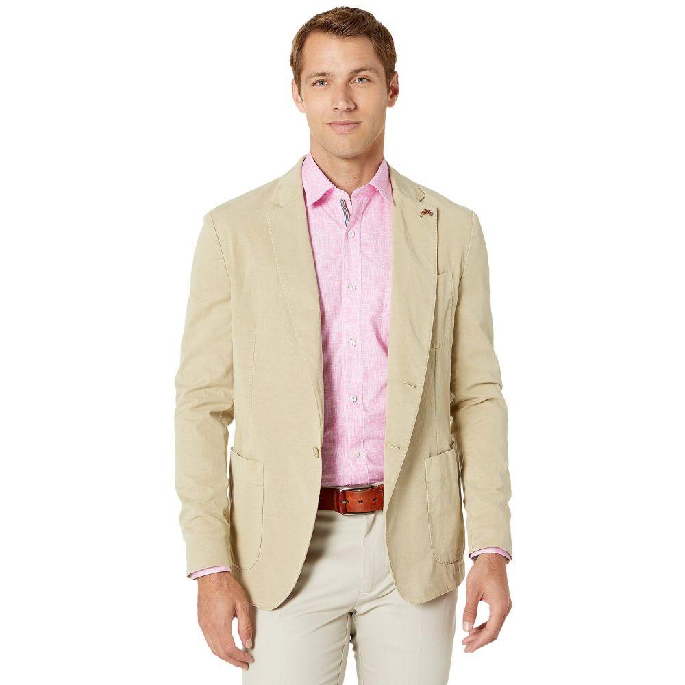 ブガッチ BUGATCHI メンズ スーツ・ジャケット アウター【Clinton Sports Coat】Sand
