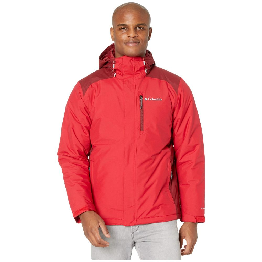 コロンビア Columbia メンズ ダウン・中綿ジャケット アウター【Tipton Peak Insulated Jacket】Mountain Red/Red Jasper