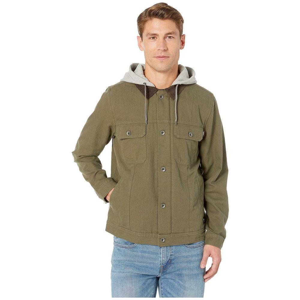 ヴァンズ Vans メンズ ジャケット フード アウター【Precept Hooded Trucker Jacket】Grape Leaf