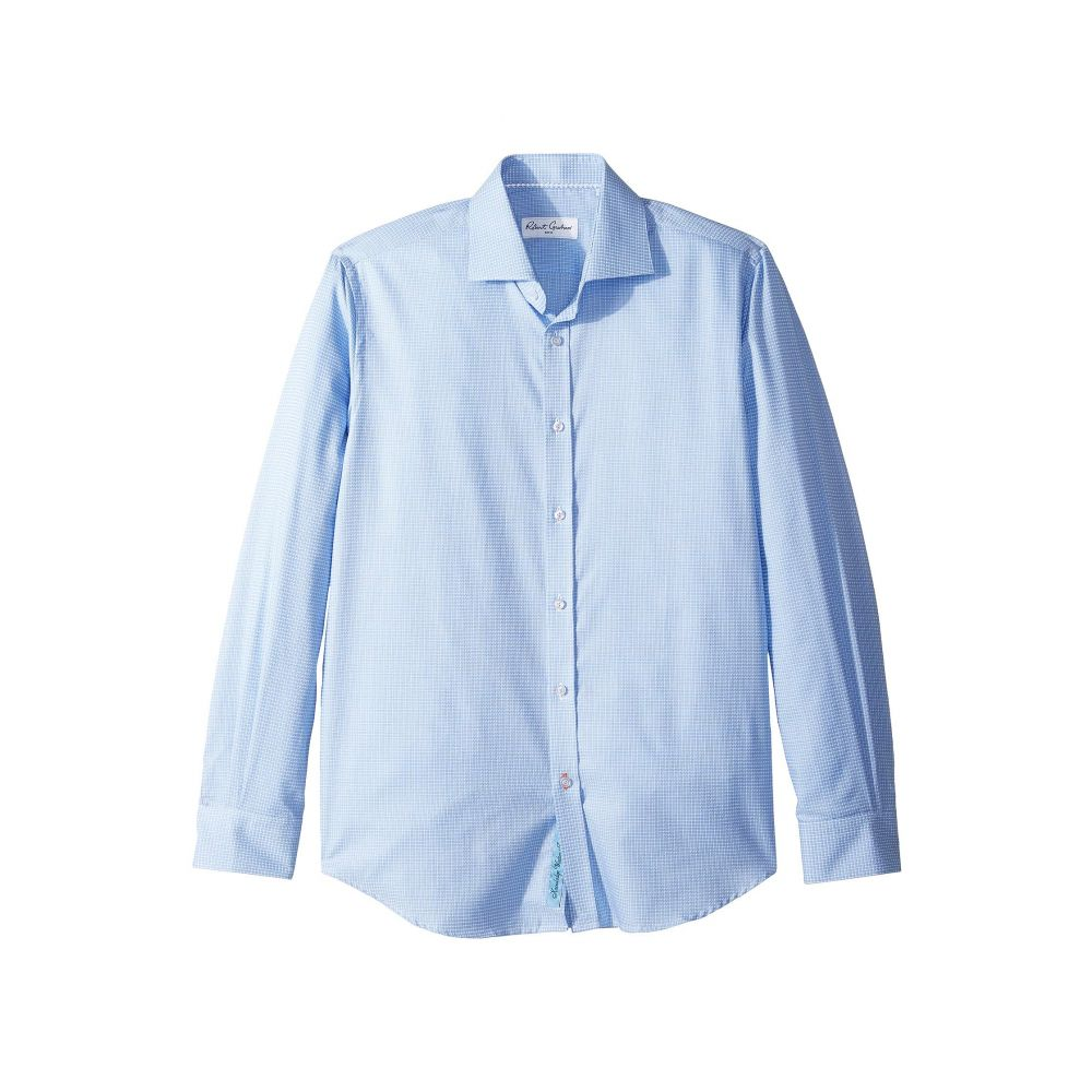 ロバートグラハム Robert Graham メンズ シャツ トップス【Edmundo Check Long Sleeve Dress Shirt】Blue