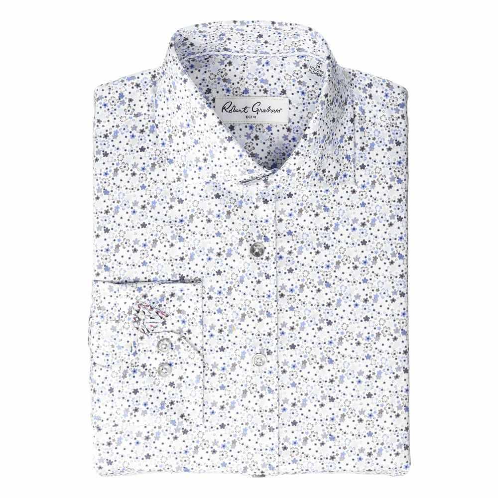 ロバートグラハム Robert Graham メンズ シャツ トップス【Clover Long Sleeve Dress Shirt】Multi
