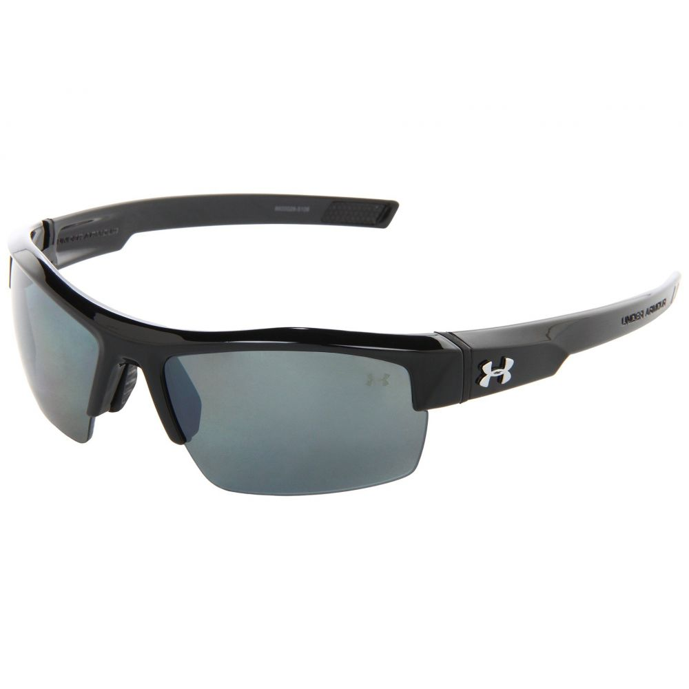 アンダーアーマー Under Armour ユニセックス メガネ・サングラス 【UA Igniter Polarized】Shiny Black/Gray Polarized Multiflection