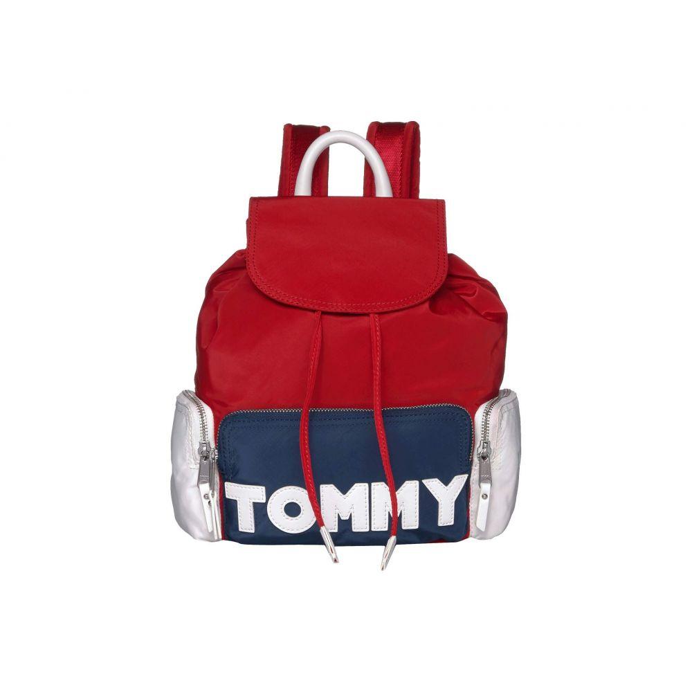 トミー ヒルフィガー Tommy Hilfiger ユニセックス バックパック・リュック バッグ【Tommy Nylon Backpack】Navy/Red/White