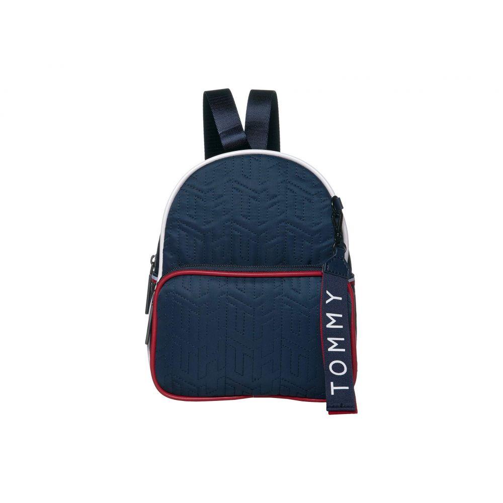 トミー ヒルフィガー Tommy Hilfiger レディース バックパック・リュック バッグ【Taylor Smooth Nylon Mini Crossbody Backpack】Tommy Navy