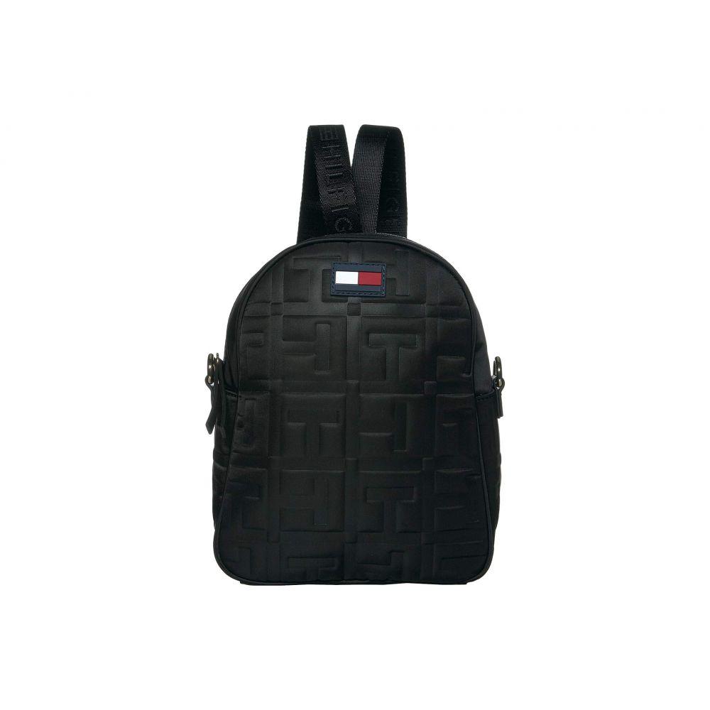 トミー ヒルフィガー Tommy Hilfiger レディース バックパック・リュック バッグ【Jules Smooth Nylon Crossbody Backpack】Black