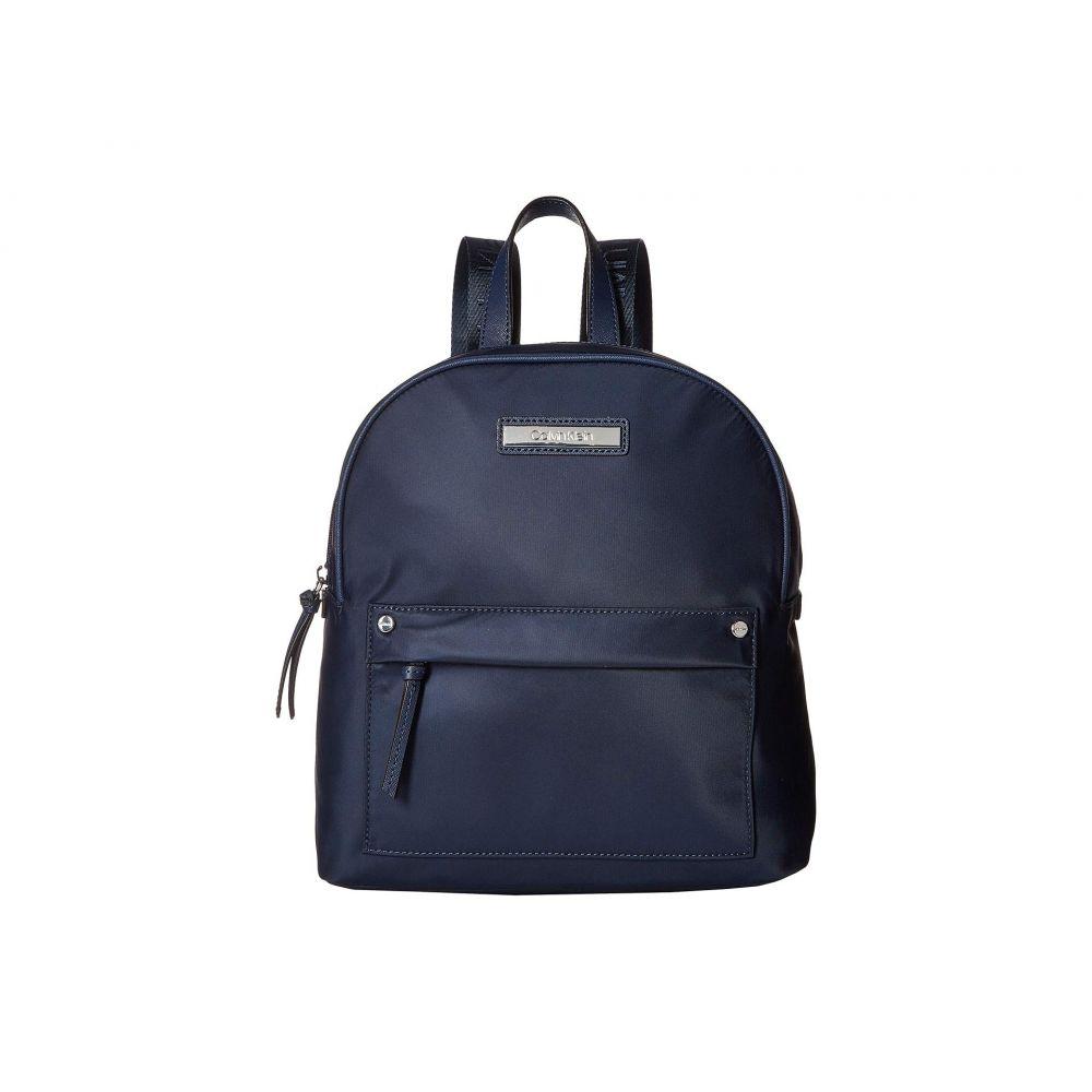 カルバンクライン Calvin Klein レディース バックパック・リュック バッグ【Nylon Backpack】Navy