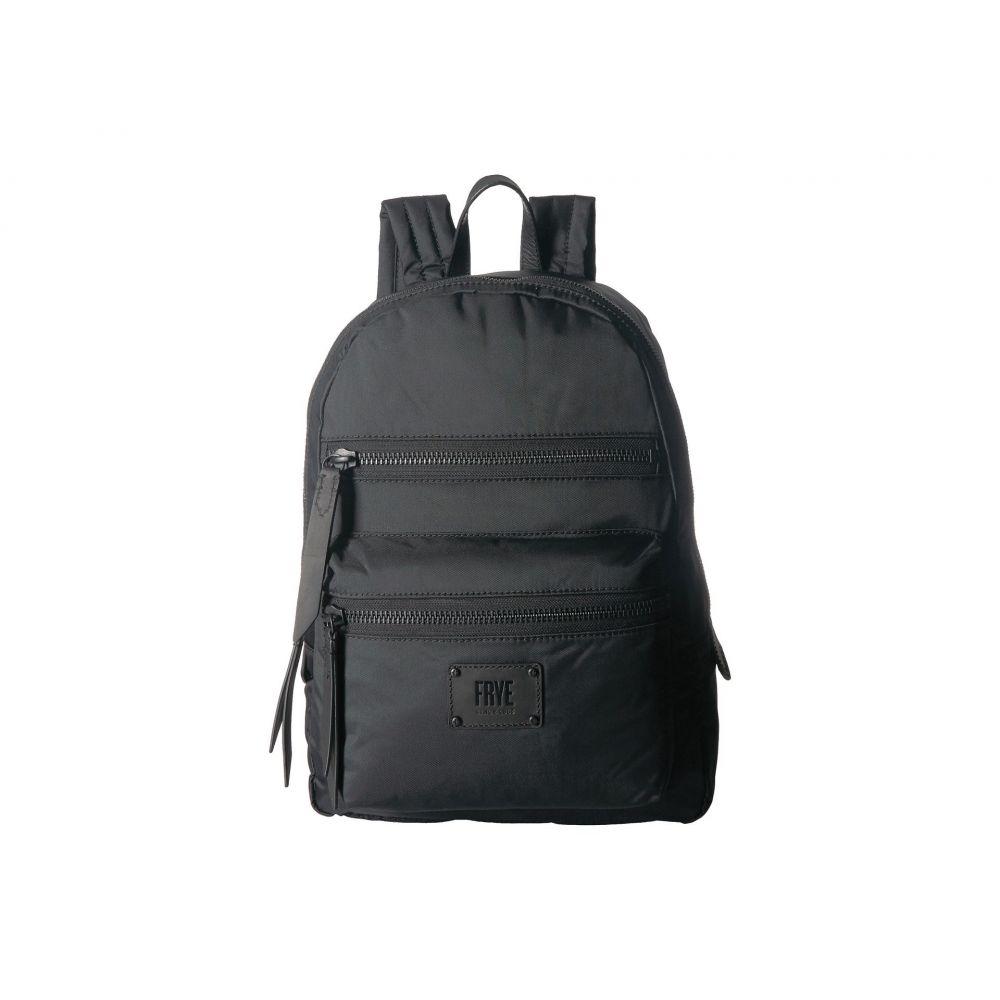 フライ Frye レディース バックパック・リュック バッグ【Ivy Backpack】Matte Black Nylon
