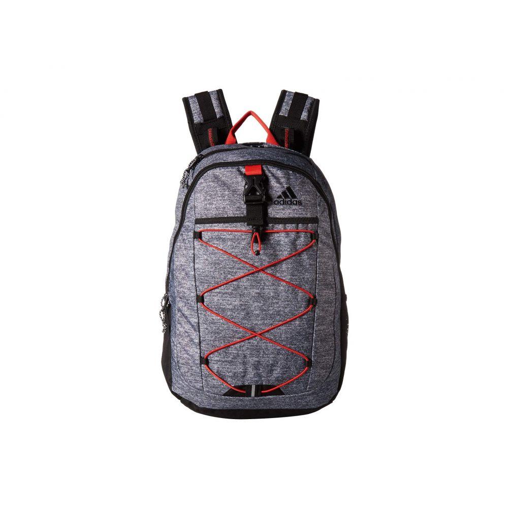 アディダス adidas ユニセックス バックパック・リュック バッグ【Ultimate ID Backpack】Onix Jersey/Active Red/Black